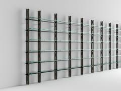 Libreria componibile in legno e vetroHEMINGWAY - T.D. TONELLI DESIGN
