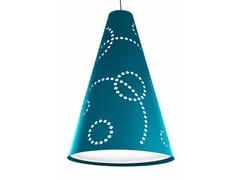 Lampada a sospensione in feltro HEY-LIGHT STAMP -