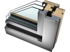 Finestra in legno/alluminio con triplo vetroHF 410 - INTERNORM ITALIA