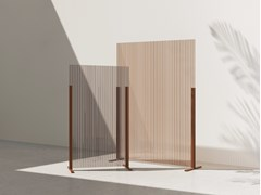 Divisorio free standing in policarbonatoHINOKI | Divisorio ufficio freestanding - MANERBA