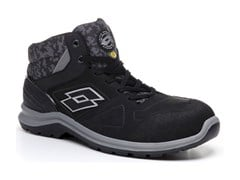 LOTTO WORKS, HIT 200 MID S3 ESD SRC AK - BLACK Scarpe antinfortunistiche