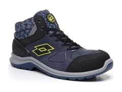 Scarpe antinfortunistiche HIT 200 MID S3 SRC AU - BLUE - LOTTO SPORT ITALIA