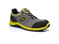 LOTTO WORKS, HIT 200 S3 SRC AH - GREY/ACACIA GREEN Scarpe antinfortunistiche