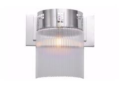 Lampada da parete a luce diretta fatta a mano in nichel HOFFMANN VII | Lampada da parete - Hoffmann