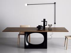 Tavolo da salotto rettangolare in legno HOLO WOOD - Holo