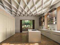 Cucina componibile in legno con isola@HOME 01 THE CLASSICAL - ELMAR