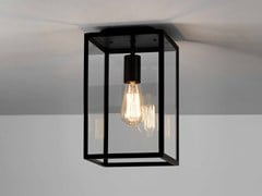 Lampada da soffitto per esterno in acciaio inox e vetro con dimmerHOMEFIELD - ASTRO LIGHTING