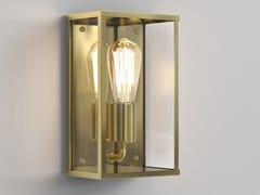 Lampada da parete in ottone e vetroHOMEFIELD COASTAL - ASTRO LIGHTING
