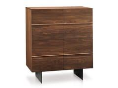 Credenza in legno massello con ante a battente HORIZON | Credenza - Oliver B. Casa