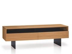 Mobile TV basso in legno massello HORIZON | Mobile TV - Oliver B. Casa