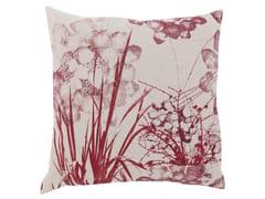 Cuscino in lino con motivi florealiHORTENSA | Cuscino - BIRGIT MORGENSTERN STUDIOS