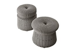 Pouf in fibra di polipropilene HOSPES - B&B ITALIA OUTDOOR, A BRAND OF B&B ITALIA SPA