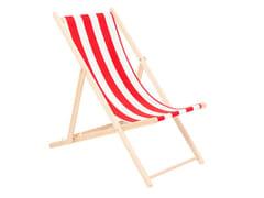Sedia a sdraio pieghevole in tessutoHOT SUMMER - KARE DESIGN