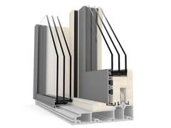 Finestra alzante scorrevole in alluminio e legno con triplo vetroHS 330 - INTERNORM ITALIA