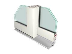 Finestra alzante scorrevole in PVC con doppio vetro CITY74 | Finestra alzante scorrevole -