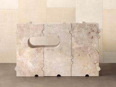 Consolle rettangolare in pietra naturaleHUME - KELLY WEARSTLER
