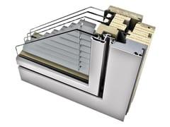 INTERNORM Italia, HV 450 Finestra in alluminio e legno con veneziana integrata