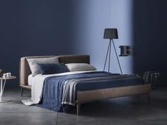 Coordinato letto ricamato a mano in lino con motivi floreali PRIMULA | Coordinato letto - Decor