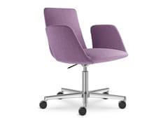 Sedia ufficio in tessuto a 5 razze con ruoteHARMONY MODERN 870-RA F37 - LD SEATING