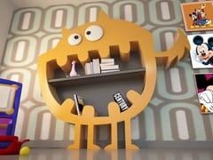 Libreria a giorno in Adamantx®HARRY - KALLISTE