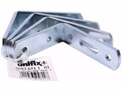 Lastrine angolari pesanti fascettate in acciaio zincatoLastrine angolari pesanti fascettate - UNIFIX SWG