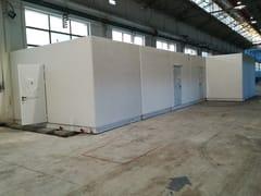 Bagno prefabbricato in cemento armatoI-18(01) | Bagno prefabbricato - EMMECINQUE MONOBLOCCHI