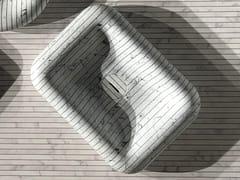 Lavabo da appoggio rettangolare in marmo di Carrara I GESSATI | Lavabo rettangolare -