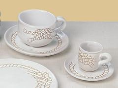 Tazza in ceramica con piattinoI GRAFFITI | Tazza - GRUPPO ROMANI