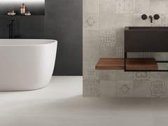 Pavimento/rivestimento in gres porcellanato effetto pietraICÔNE BLEU Blanc - ITALGRANITI