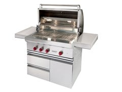 Barbecue a gas in acciaio inox ICBOG36-CART36 | Barbecue - WOLF BY SUB-ZERO GROUP