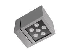 Lampada da parete per esterno a LEDICE CUBE 1 LED - LUG LIGHT FACTORY