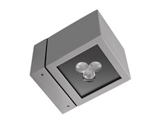 Lampada da parete per esterno a LEDICE CUBE 2 LED - LUG LIGHT FACTORY