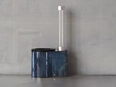 Wc in ceramicaICONE01 ORIGINALS  BLU SHADED - TRONE