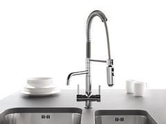 Rubinetto da cucina per trattamento acque con acque separateIDEALAQUA 323 - QUADRO