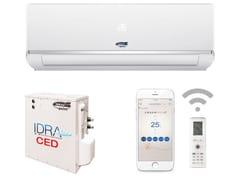 Climatizzatore senza unità esterna a parete con sistema inverterIDRA CED MONOSPLIT - TEKNO POINT ITALIA