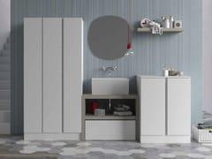 Mobile lavanderia componibile per lavatrice IDROBOX | Mobile lavanderia per lavatrice - Idrobox