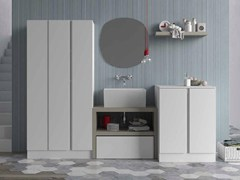 Mobile lavanderia componibile per lavatriceIDROBOX COMP. 10 - BIREX