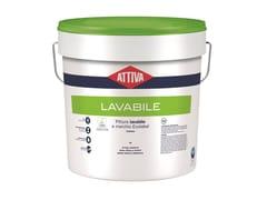Idropittura lavabile per interni a marchio EcolabelIDROPITTURA LAVABILE - ATTIVA