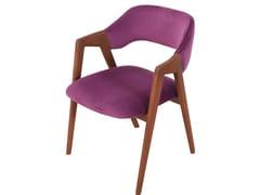Sedia in tessuto con braccioli IKKITA | Sedia in tessuto -