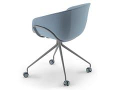 Sedia ufficio in tessuto con ruoteIKO SOFT STUDIO / 06C - ALIAS