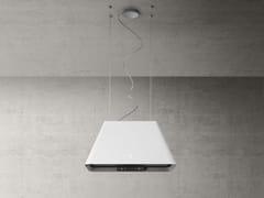 Cappa ad isola in acciaio inox con illuminazione integrataIKONA LIGHT - ELICA