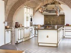 Cucina professionale in acciaio con isolaIL FRANTOIO - OFFICINE GULLO