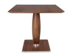 Tavolo quadrato in legno VIAGGIATORE | Tavolo quadrato -