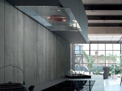 Cappa in acciaio inox ad incasso con illuminazione integrata classe AILMA - FABER