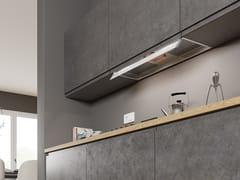 Cappa in acciaio inox ad incasso con illuminazione integrata classe AILMA TOUCH - FABER