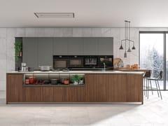 Cucina componibile con isola IMMAGINA PLUS HEAD 1 - Immagina Plus