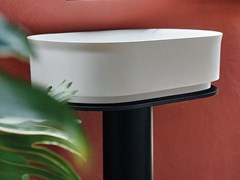 Lavabo freestanding in Cristalplant® IMMERSION   Lavabo freestanding - Immersion
