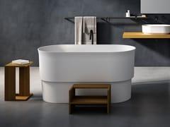 Vasca da bagno in Cristalplant®IMMERSION | Vasca da bagno - AGAPE