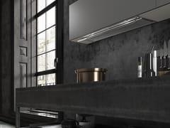 Cappa in acciaio inox ad incasso con aspirazione perimetrale classe AIN-NOVA PREMIUM - FABER