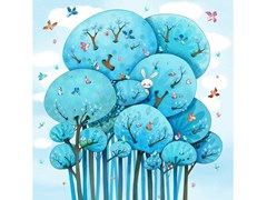 Carta da parati adesiva in JET TEX per bambiniIN THE TREES - ACTE DECO